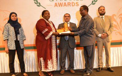 Coady grad receives international award
