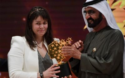 Former Coady Youth Intern Maggie MacDonnell won the coveted Global Teacher Prize