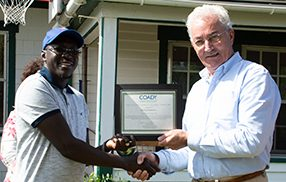 Gambian participant receives Coady Family Global Bursary