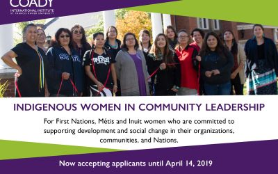Deadline Extended: Indigenous Women in Community Leadership