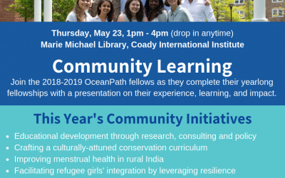 Join us! OceanPath Fellowship Community Learning Presentations