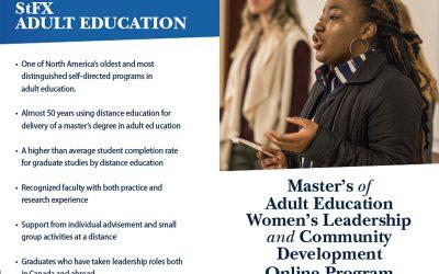 StFX University Offers New Online Master's Program for Women Leaders in Community Development