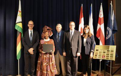 Coffee with Coady Celebrates 20 Years of Katherine Fleming International Development Award