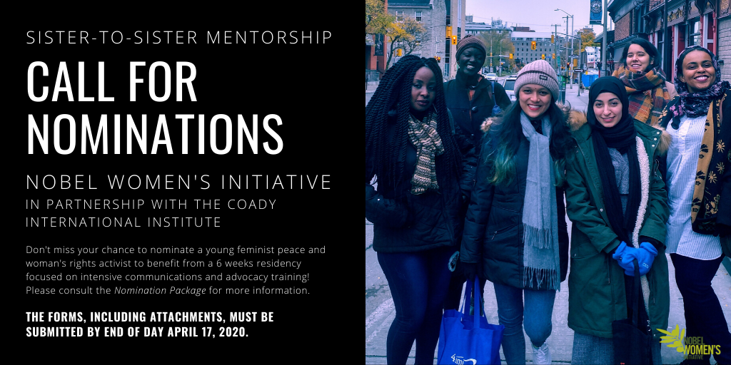 Sister-to-Sister Mentorship Program Nominations Open