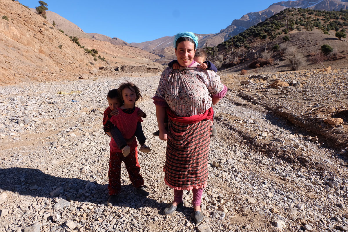 Berber people in Maroc