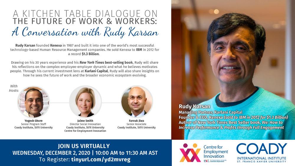 A Conversation with Rudy Karsan