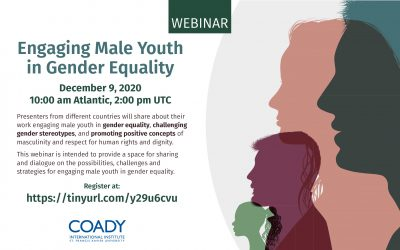 Webinar: Engaging Male Youth in Gender Equality