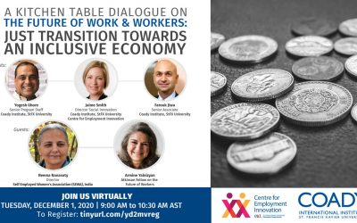 Webinar: Just Transition Towards An Inclusive Economy