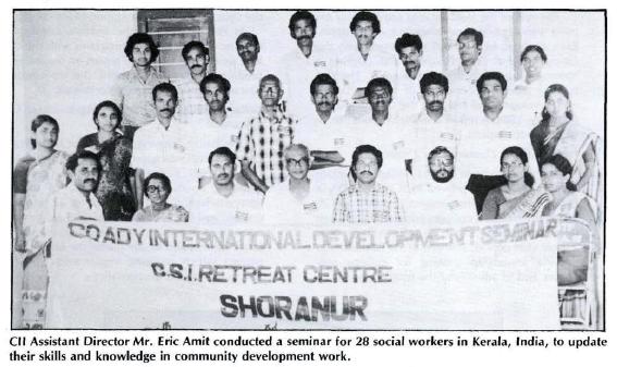 1984 Eric Amit seminar in India