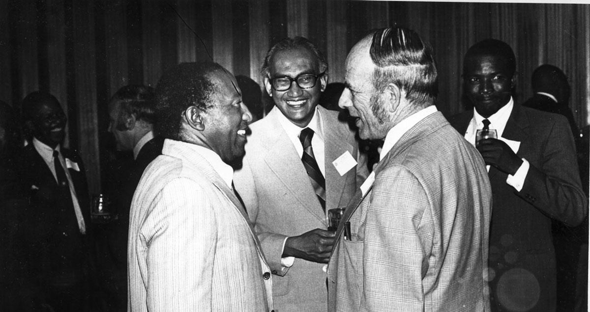 Philip-Mabathoana—Eric-Amit—Norm-Riley—1976