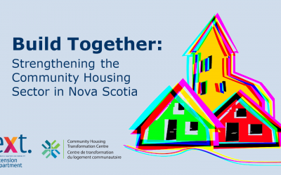 New Project Aims to Strengthen the Community Housing Sector in Nova Scotia