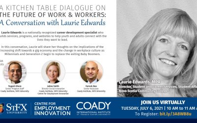 Event: A Conversation with Laurie Edwards – A Kitchen Table Dialogue on the Future of Work and Workers