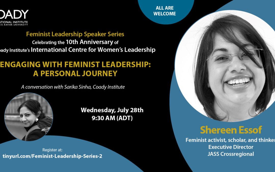 Event: Engaging with Feminist Leadership – A Personal Journey with Shereen Essof