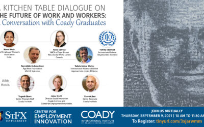 Event: The Future of Work and Workers – A Conversation with Coady Graduates